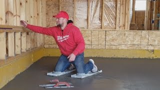 Стяжка пола в гараже в Америке(Привет Сегодня ребята работают над стяжкой пола в гараже. Работа идет )) Даже мне перепала возможность попро..., 2016-10-27T17:43:05.000Z)