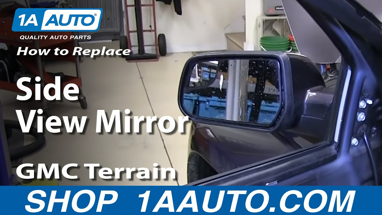 How To Install Replace Fix Broken Side View Mirror Gmc Terrain 2011 Equinox Wiring Diagrams