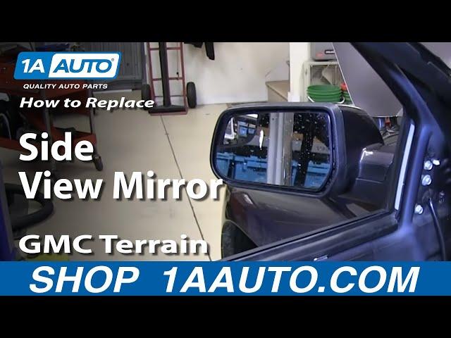 10-14 Chevy Equinox GMC Terrain Passengers Side View Power Mirror Heated