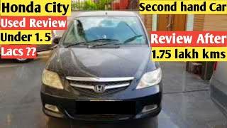 Honda city used review| Honda city vtec review|Honda city second hand| Honda City ZX