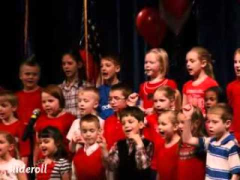 Arlington Elementary School Patriotic Photos concert Fort Wayne, Indiana