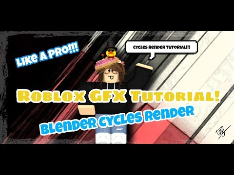 Download How To Make A Roblox Gfx With Blender Cycles Render Make