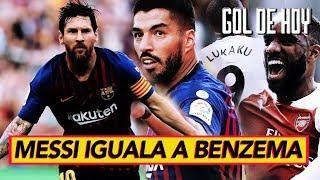 Goleada del Barcelona 8 - 2 I MESSI PICHICHI I Goles de Europa #goldehoy