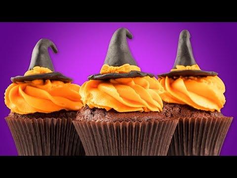 DIY Easy Halloween Treats | Halloween Cupcakes & Yummy Desserts By Deli Wow