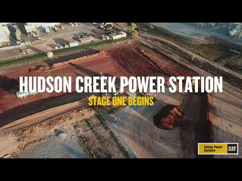 Hudson Creek Power Station - The Project Begins