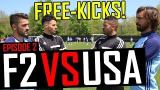 Pirlo  Villa Free-Kick Masterclass  F2 vs USA  Episode 2