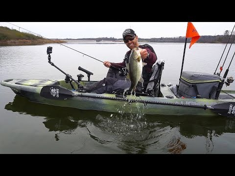 Meet The Lightning Kayaks Strike: NEW Affordable Pedal Drive