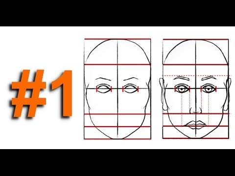 Karakalem Yüz Çizimi (How to draw a face?)