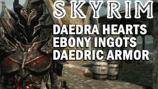 Get The Daedric Armor in Skyrim - Full Walkthrough