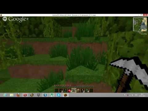 Видео обзор игры Майнкрафт 1.5.2.(Первый взгляд)