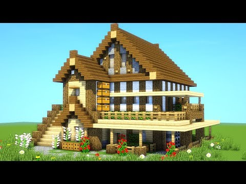 Best Survival House Tutorial Ever How To Build An Ultimate Minecraft House 2019 Youtube