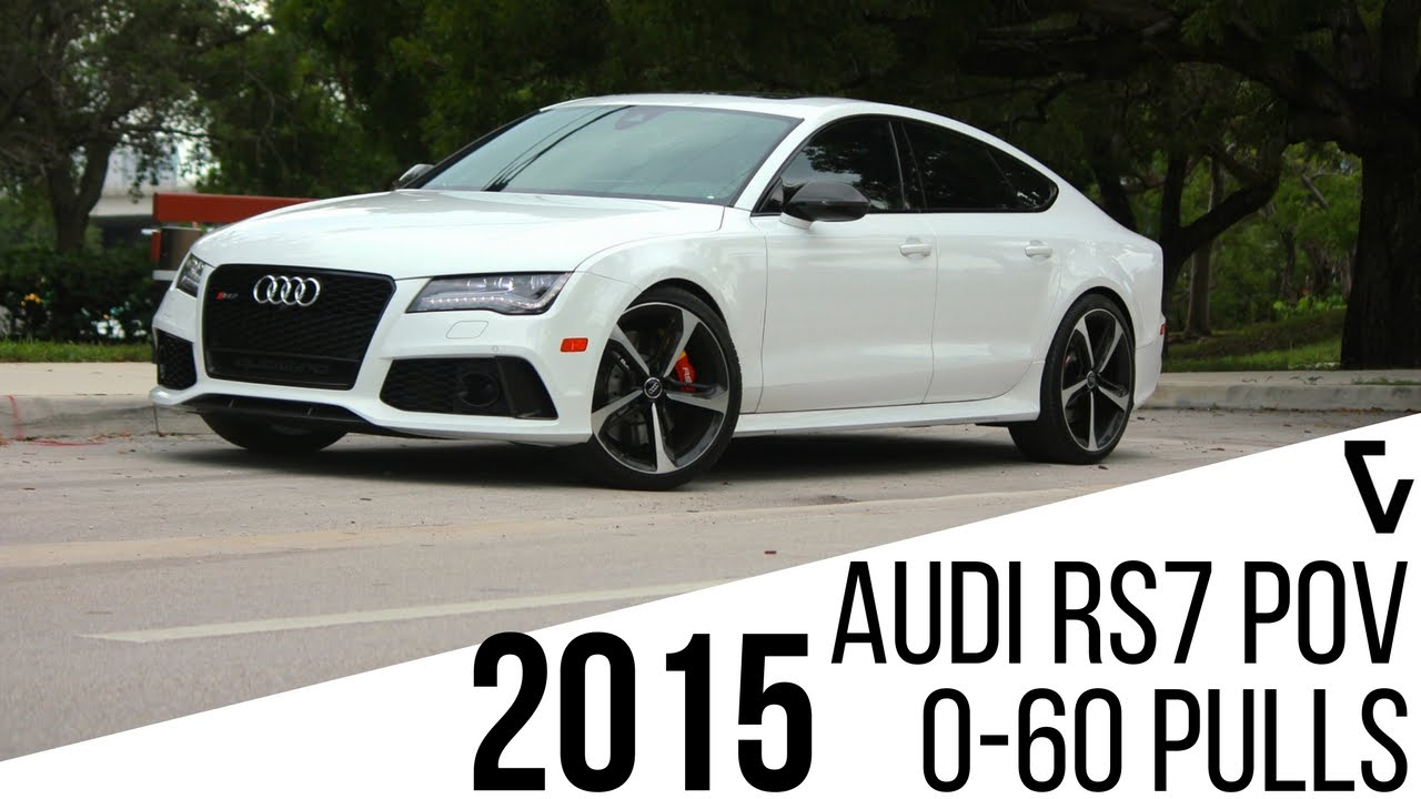 Audi Rs7 0 60 >> 2015 Audi Rs7 Pov Test Drive 0 60 Veluxity Youtube