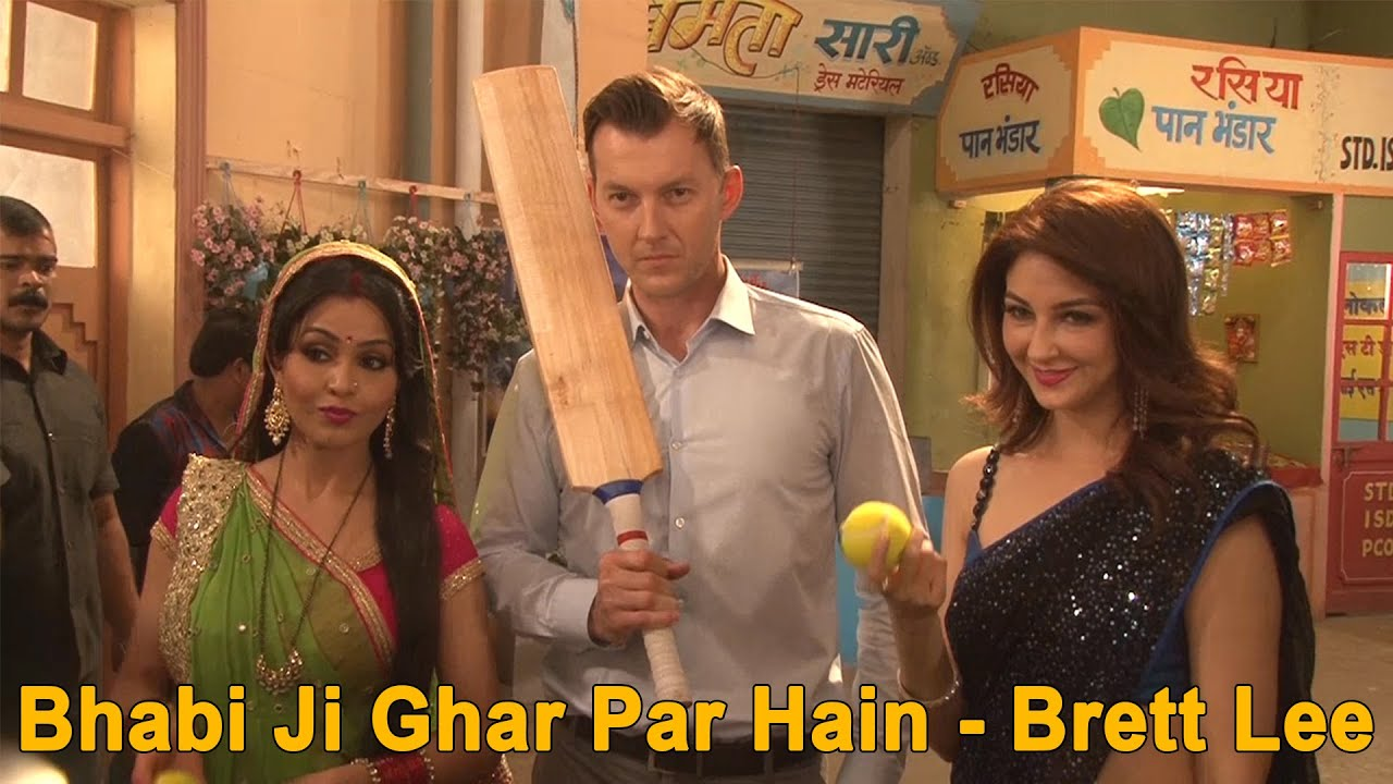 Bhabi ji Ghar pe hai | Brett Lee Special | On location Shoot