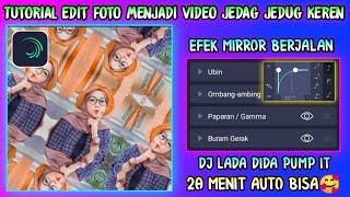 Download lagu Cara Membuat Video Jedag Jedug Di Alight Motion || Dj Lada Dida Pum it || Efek Mirror Berjalan