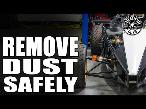 How To Remove Dust Without Scratching Carbon Fiber - Ariel Atom - Chemical Guys