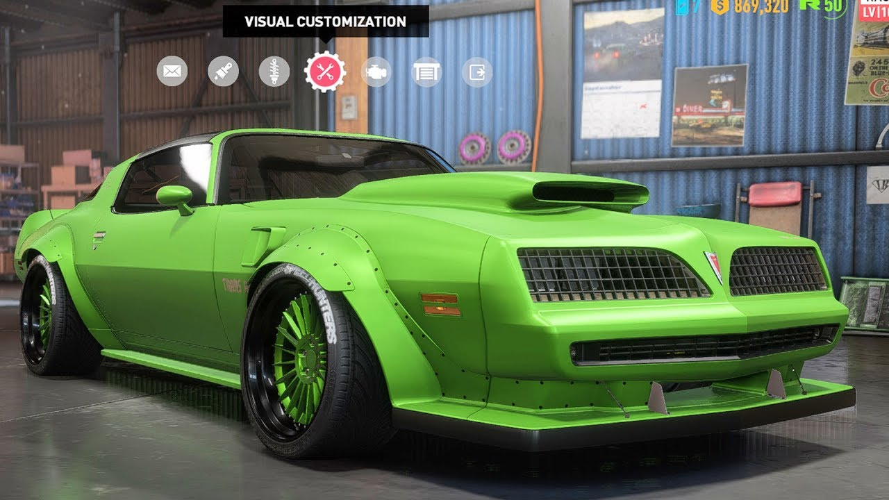 Need For Sd Payback Pontiac Firebird Trans Am Customize Tuning Car Pc Hd 1080p60fps