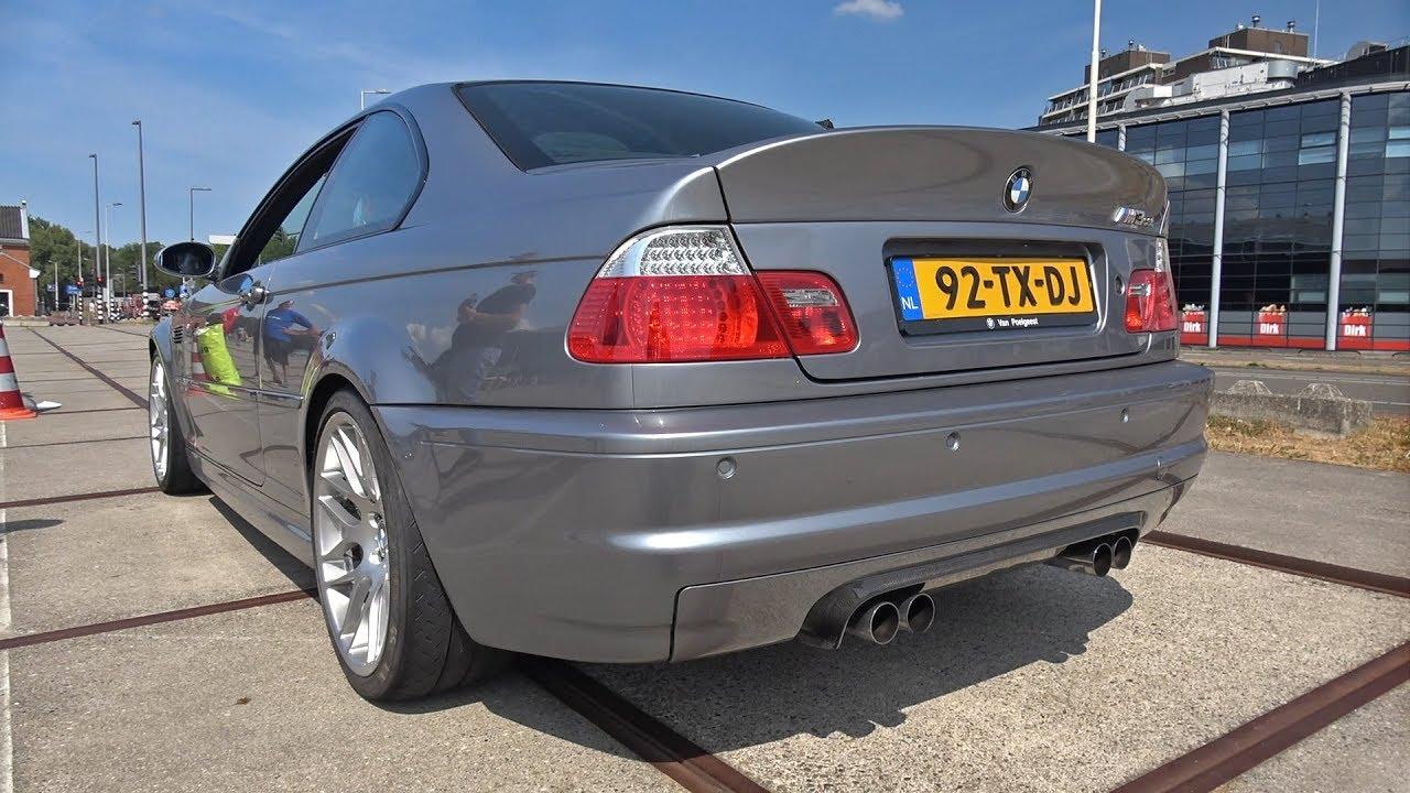 Bmw E46 M3 Csl M3 Gts Exhaust Sounds Youtube