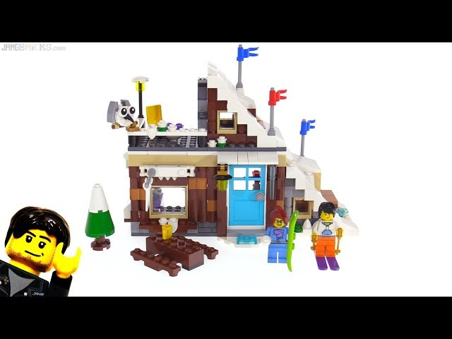 LEGO Creator Modular Winter Vacation 3-in-1 review ???? 31080