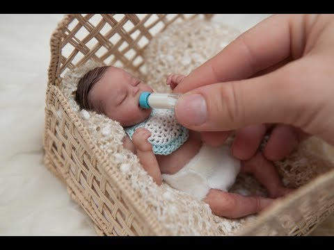 Miniature Silicone Baby