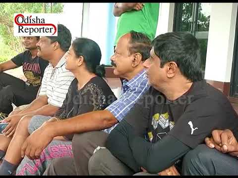 protest against closing down of  swimming pool complex in Kalinga stadium