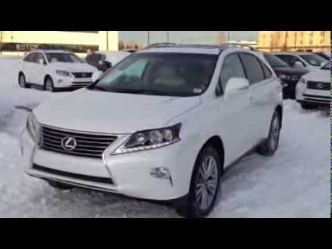White 2014 Lexus RX 350 AWD Touring Package Review