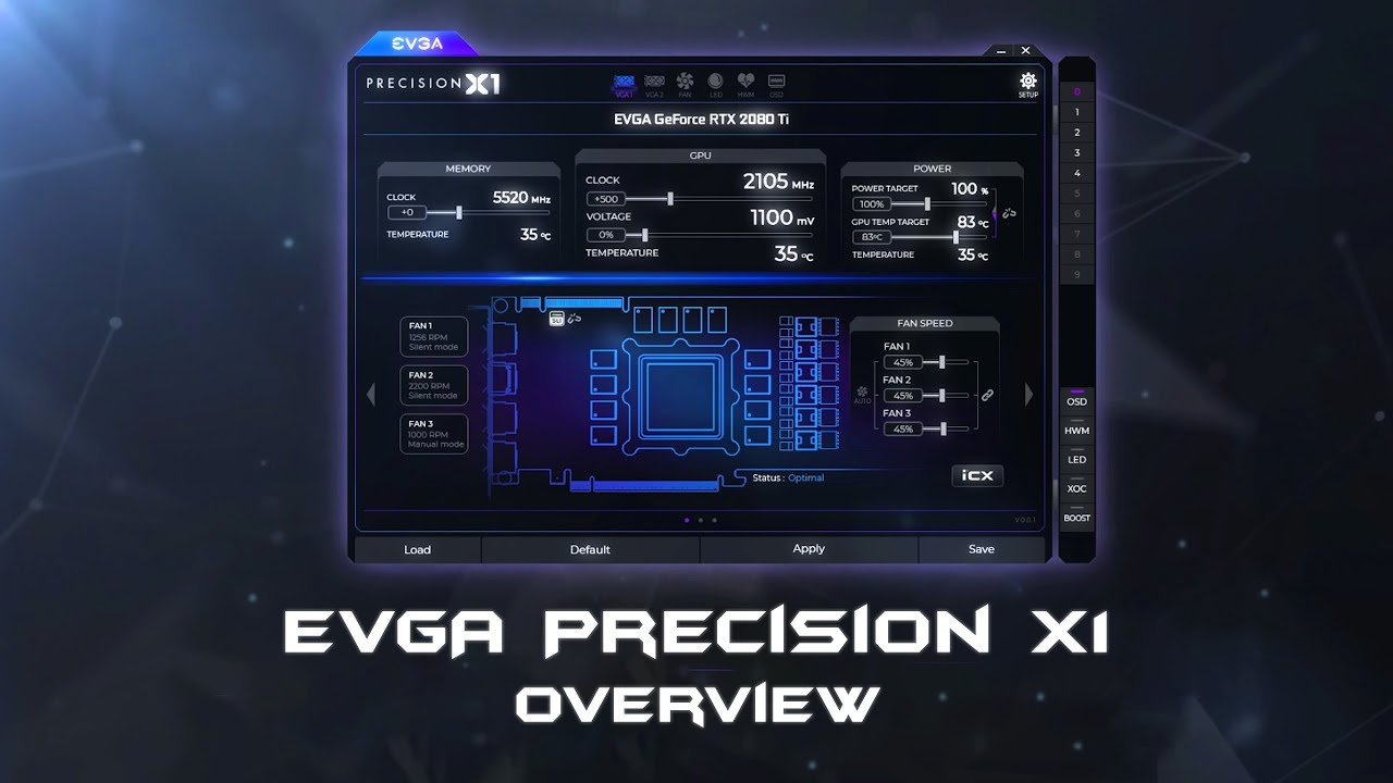 EVGA - Software - EVGA Precision X1