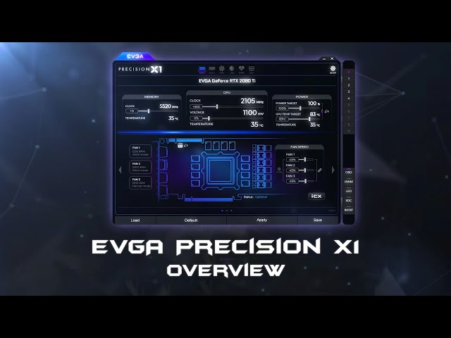 EVGA Precision X1 for GeForce RTX 20-Series Now Available