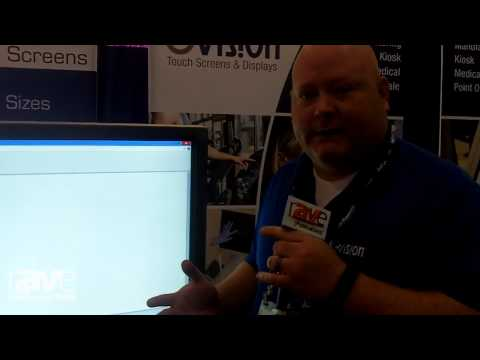 InfoComm 2015: GVision Shows DS55 Large Format Touch Screen Monitor