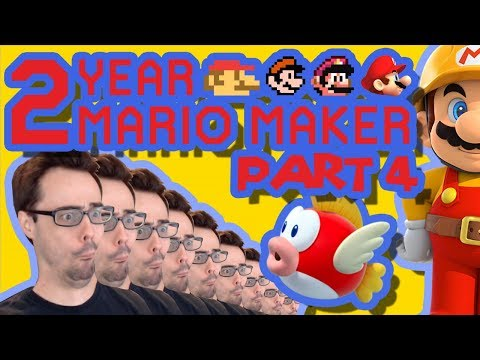 Mario Maker - They Let Barb Make A Level? (& Actual Good Puzzle) | Anniversary Levels #4