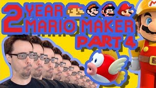 Mario Maker - They Let Barb Make A Level? (& Actual Good Puzzle)   Anniversary Levels #4