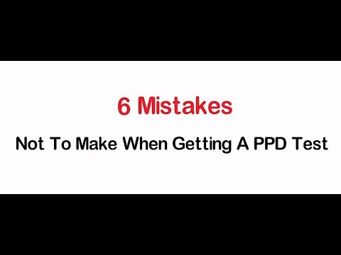 PPD Test 2 Step PPD Testing || Statcare