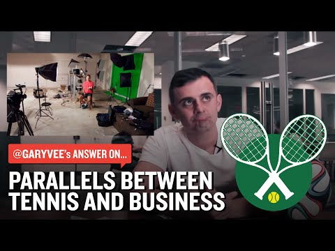 The Answers: Do you see parallels between tennis and business?