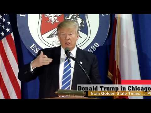 AMAZING:Donald Trump Speaks to Polish Americans in Chicago