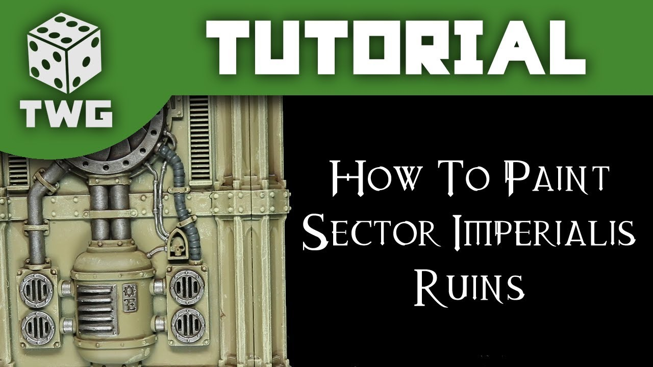 How To Paint Sector Imperialis Ruins: Warhammer 40k Scenery Tutorial (The  War Gamer)
