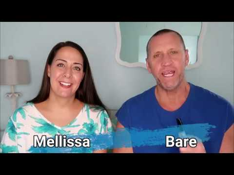 About Us: Mellissa & Bare