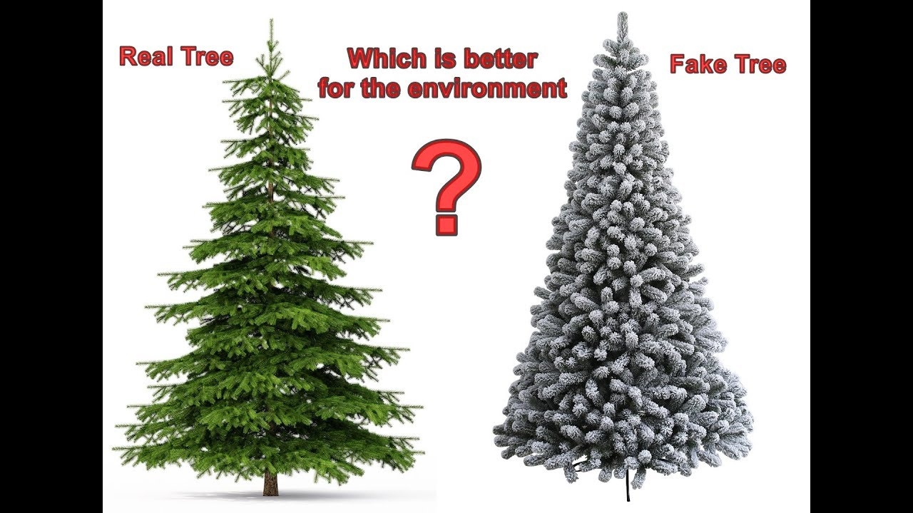 Fake Christmas Tree.Real Or Fake Which Christmas Tree Is Better For The Environment