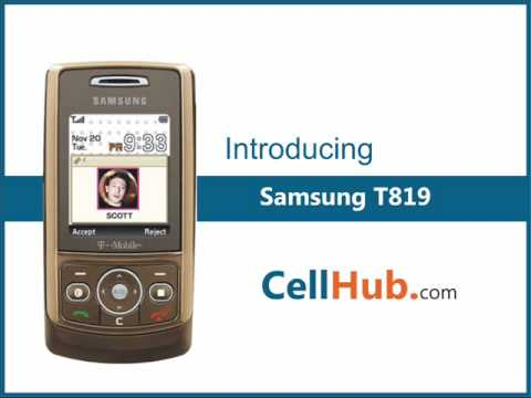 Samsung T819 by (www.cellhub.com)