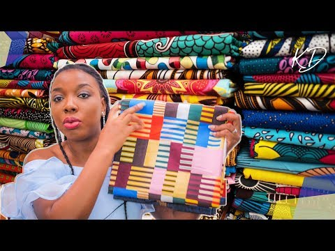 HOW TO GET AFRICAN PRINTS ONLINE | KIM DAVE