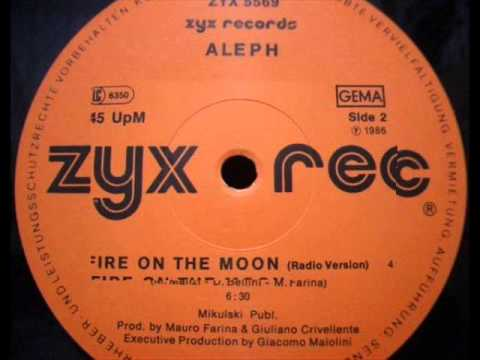 ALEPH - FIRE ON THE MOON (℗1986)