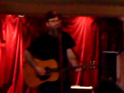 Otis Gibbs at City Screen, York 23 June 2009 Hank Williams cover I heard a lonesome whistle blow
