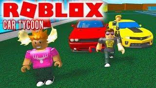 MIN BIL ER BEDST, DME! - Roblox Car Tycoon Dansk