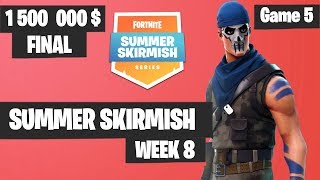 Fortnite Summer Skirmish Week 8 Day 4 Grand Final Game 5 Highlights PAX WEST