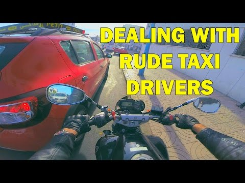 MOTO VLOG #1 - Casablanca, Dealing with rude taxi drivers #TEASER