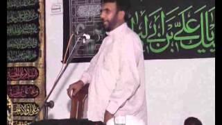 Allama Manzoor Hussain jawadi biyan mosaib maqtalmajlis 22 july 2015 Sargodha