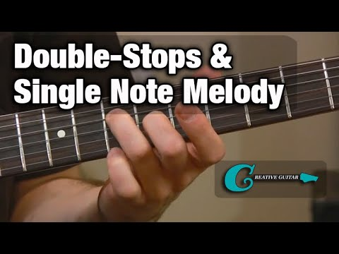 RHYTHM GUITAR: Double-Stops & Single Note Melody
