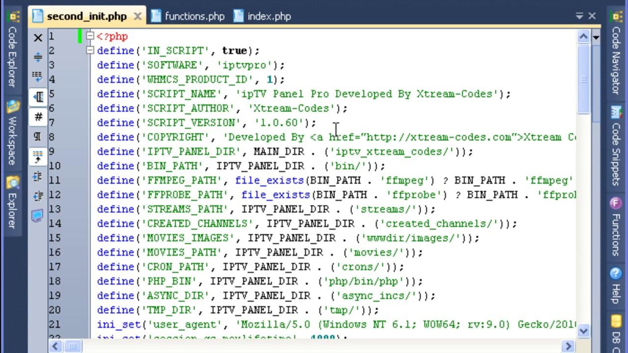 Xtream Codes IPTV 1 0 60 Decoded