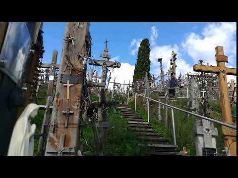 リトアニア 十字架の丘~欧州街角タイムラプス~