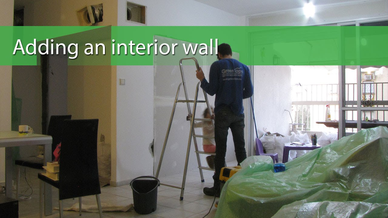 Attrayant Adding An Interior Wall   YouTube