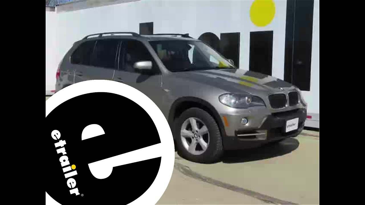 Install Trailer Wiring 2008 Bmw X5 119190kit