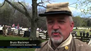 Reenactments Mark 150th Anniversary of US Civil War's End